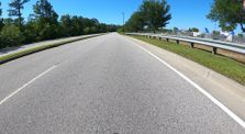 Riding past Boeing Charleston SC by cycling