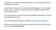 Backpage Washington DC by bedpage