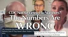 CDC Suspends Flu Data Reporting: More reasons to question the numbers & suspect foul play #C0vid1984 by Main onlyjob channel
