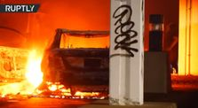 Flames and fury in Minneapolis | Protesters burn down a mall complex by Main world_news channel