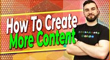 ▶️ How To Create More Content | EP#325 by Crypto And Things