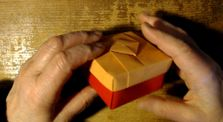 Spinning Square Box origami by Main matera_the_mad channel